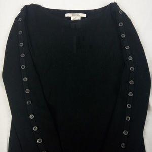 Michael Kors Black Pullover Sweater M